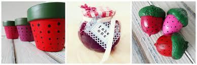 simply sweet strawberry summer craft ideas craft paper scissors