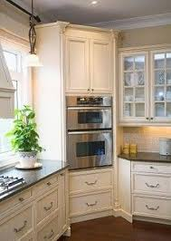 Hide Microwave In Cabinet Corner Pantry Like This Idea For A Kitchen Remodel Corner