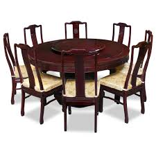 60 In Round Dining Table Round Table And Chairs 60in Rosewood Longevity Design Round Dining