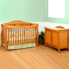 Convertible Cribs With Attached Changing Table Luxury Cribs With Attached Changing Table Dresser Large Size Of