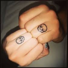 collection of 25 skull finger image