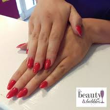 acrylic nail extensions beauty and bubbles manchester northern