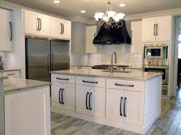 Black Handles For Kitchen Cabinets Photos Of Kitchen Cabinets With Knobs White Shaker Cabinets With