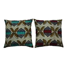 Knitted Cushions With Buttons Ankara Throw Pillows Archives Urbanknit