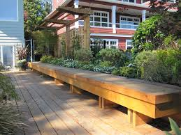 Build Deck Bench Seating Deck Bench Seating Cushions Deck Bench Seating To Enjoy Your
