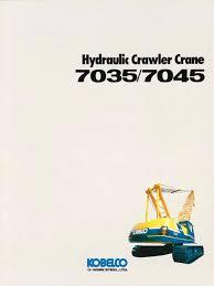 kobelco crane manuals the best crane 2017
