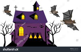 scary haunted house stock illustration 319687799 shutterstock