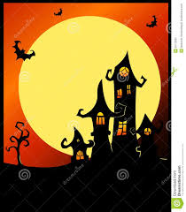 animated halloween clipart terrible halloween castle stock photography image 26773292