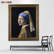 painting girl with a pearl earring girl with a pearl earring by johannes vermeer classic painting