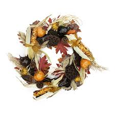 shop northlight 28 in indoor gourd artificial thanksgiving wreath at