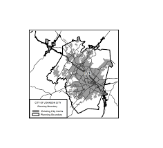 Tennessee County Map With Cities by Document Center City Of Johnson City Tn