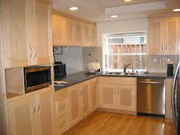 Light Maple Kitchen Cabinets Image Only Niviyas Light Maple - Shaker cabinet kitchen