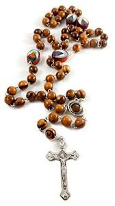 olive wood rosary olive wood rosary necklace devout silver plated cross with holy