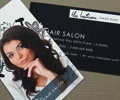 Salon Business Card Ideas Hair Salon Business Card Thebridgesummit Co