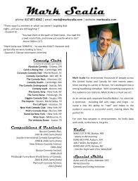 How To Write A Bartender Resume Comedian Resume Resume Cv Cover Letter