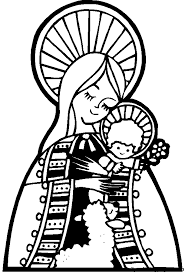 baby jesus coloring page adorable jesus and mary coloring page catholic coloring pages