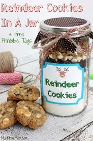 Decorated Jars For Christmas 32 Best Mason Jar Cookie Recipes Ever Created Diy Joy
