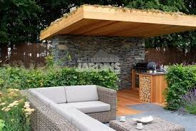 cuisine ext駻ieure design photo cuisine exterieure jardin fontaine de moderne 4 d ete design