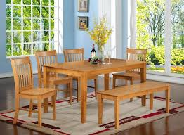 Dining Room Tables With Bench Seating Creative Dining Table Bench Seat With Vintage Banquette Set