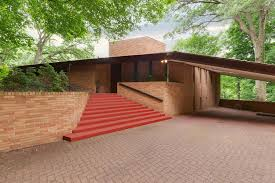 rare frank lloyd wright house in st louis park on the market