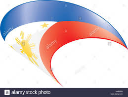 philippines flag vector stock photos philippines flag vector stock