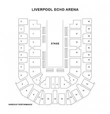 liverpool echo arena seat plan for paw patrol live liverpool