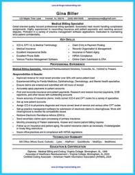 Medical Billing Job Description For Resume by Medical Billing And Coding Resume Examples Cool Stuff To Make