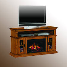 brookfield electric fireplace media console from palm fan store
