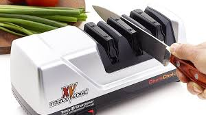 electric kitchen knives give your kitchen knives new with this professional sharpener
