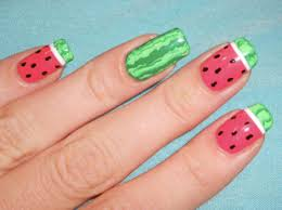 Food Nail Art Designs Enter The Weird And Wonderful World Of Food Inspired Nail Art