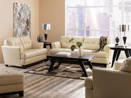 White Leather Couch Living Room Decor Gorgeous White Leather Sofa Of Bobs Furniture The Pit For
