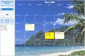 agenda sur bureau logiciel agenda gratuit calendrier annuel et agenda à télécharger