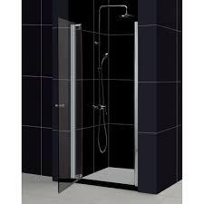 glass pivot shower door limescale on glass shower doors