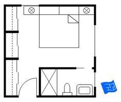 bedroom plans master bedroom floor plan with vestibule doubling as a closet