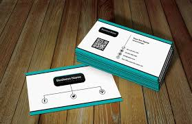 white ratro business card template with qr code free