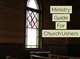 the ministry of church ushers a starter u0027s guide to usher ministry