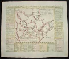 Map Of Great Lakes 1719 Chatelain Large Antique Map Of The Great Lakes Of North