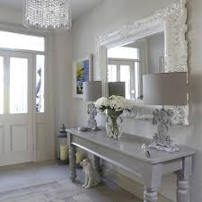 White Entry Table by The Honeybee Entryway Table Decor New Home Design Ideas Theme