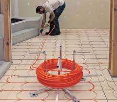 smarttrac above floor subfloor radiant heat panel solution