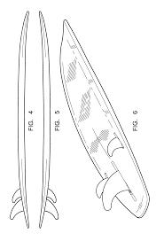 patent usd527781 surfboard google patents