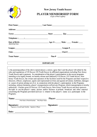 29 soccer registration form templates free to download in pdf