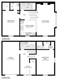 Split Floor Plans by Floor Split Floor Plans