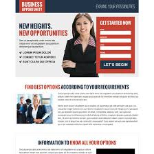 business opportunity responsive landing page design for your