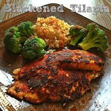 Healthy Fish Dinner Ideas Best 25 Blackened Tilapia Ideas On Pinterest Cajun Tilapia