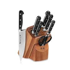 cangshan v2 series 1022537 german steel forged 8 piece knife block