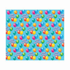 birthday gift wrap jubilee birthday wrapping paper kitchen dining