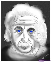 how to draw albert einstein step by step stars people free