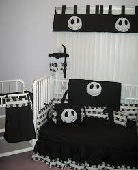 new nightmare before baby crib bedding set cool