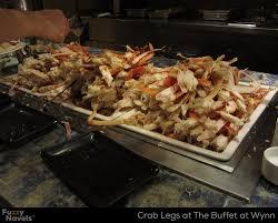 Mandalay Bay Buffet Las Vegas abundant crab legs at the buffet at wynn fuzzy navels