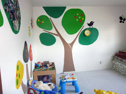 creativity ideas for home decoration kids room wall painting to refresh creativity home ba nursery